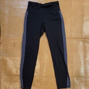 High-rise street leggings 7/8 length, M